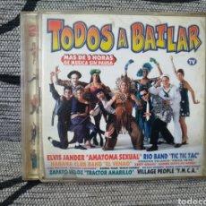 CDs de Música: TODOS A BAILAR. Lote 243340935