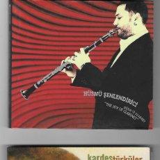 CDs de Música: LOTE 3 CDS ALBUMS HÜSNÜ SENLENDIRICI LAÇO TAYFA KARDES TURKULER FOLK JAZZ TURQUIA MUSICA TURCA RAROS. Lote 243347860