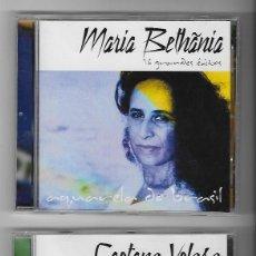 CDs de Música: LOTE 6 CDS ALBUMS CAETANO VELOSO MARIA BETHANIA VINICIUS DE MORAES MARIA CREUZA MPB FOLK BRASIL. Lote 243354890