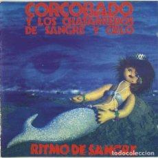 CDs de Música: CORCOBADO Y LOS CHATARREROS DE SANGRE Y CIELO - RITMO DE SANGRE. Lote 287838408