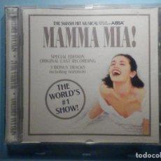 CDs de Música: CD - COMPACT DISC - MAMMA MIA! - ABBA MUSICAL. Lote 243406705
