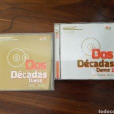 CDs de Música: CD DOS DÉCADAS DANCE VOL 2 FALTAN LOS CD'S 4 Y 5 Y TAMBIÉN LA FUNDA DE CARTÓN. Lote 243412210