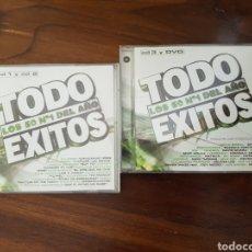 CDs de Música: CD TODO ÉXITOS 2002 3CDS + DVD. Lote 243412570