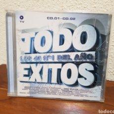 CDs de Música: CD TODO ÉXITOS 2003 2CD'S. Lote 243413210