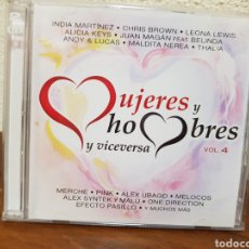 CDs de Música: CD MUJERES Y HOMBRES Y VICEVERSA VOL 4 2CD'S. Lote 243413540