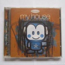 CDs de Música: VARIOUS-MY HOUSE-A HOUSE MUSIC COMPILATION BY DJ JEF K, PARIS-CD-1996. Lote 243423080