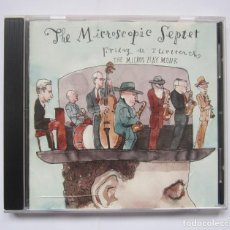 CDs de Musique: THE MICROSCOPIC SEPTET-FRIDAY THE THIRTEENTH-CD-2010. Lote 243423910