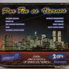 CDs de Música: CD - POR FIN ES VIERNES - MAX MUSIC - 1992 (2 DISCOS). Lote 243426290