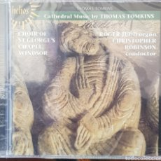 CDs de Música: THOMAS TOMKINS CATHEDRAL MUSIC CHOIR OF ST GEORGES CHAPEL WINDSOR ROGER JUDD ORGAN CHRISTOPHER ROBIN. Lote 243427150