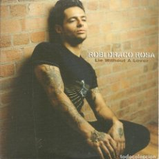 CDs de Música: ROBI DRACO ROSA - LIE WITHOUT A LOVER (CDSINGLE CARTON PROMO, SONY MUSIC 2004). Lote 243459055