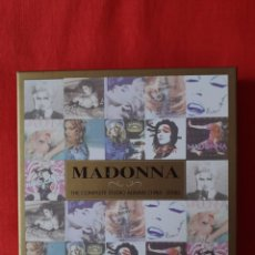 CDs de Música: MADONNA COMPLETE STUDIO ALBUMS 1983-2008 (11 CD DISCOGRAFIA BOX SET) PERFECTO ESTADO.. Lote 243545565