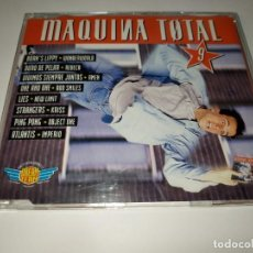 CDs de Música: 0221-MAQUINA TOTAL 9 SINGLE RADIO EDIT PROMO CD/ DISCO ESTADO BUENO. Lote 243551930
