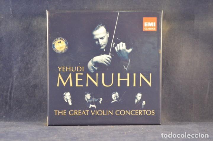 YEHUDI MENUHIN - THE GREAT VIOLIN CONCERTOS - COMPILATION - 10 CD (Música - CD's Clásica, Ópera, Zarzuela y Marchas)