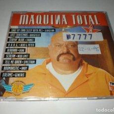 CDs de Música: 0221- MAQUINA TOTAL 7 SINGLE RADIO EDIT CD/ DISCO ESTADO NORMAL. Lote 243594055