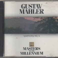 CDs de Música: GUSTAV MAHLER - MASTERS OF THE MILLENNIUM / CD ALBUM DE 1999 / MUY BUEN ESTADO L RF-9117. Lote 243621790