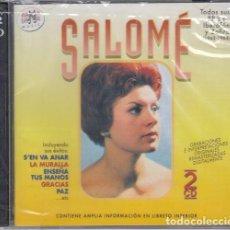 CDs de Música: SALOME - TODAS SUS GRABAICIONES EN IBEROFON Y ZAFIRO 1962 - 1963 - DOBLE CD. Lote 243646160