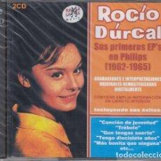 CDs de Música: ROCIO DURCAL - SUS PRIMEROS EP EN PHILIPS 1962 - 1965 - DOBLE CD NUEVO PRECINTADO. Lote 243649140