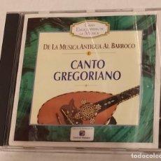 CDs de Música: CD GRAN ENCICLOPEDIA DE LA MUSICA Nº 1 - CANTO GREGORIANO. TIEMPO. Lote 243668510