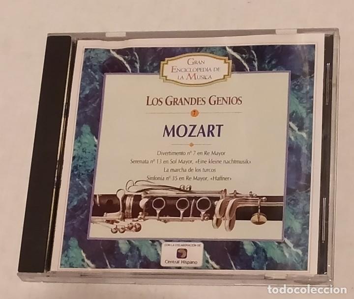 CD GRAN ENCICLOPEDIA DE LA MUSICA Nº 7 - MOZART. TIEMPO (Música - CD's Clásica, Ópera, Zarzuela y Marchas)