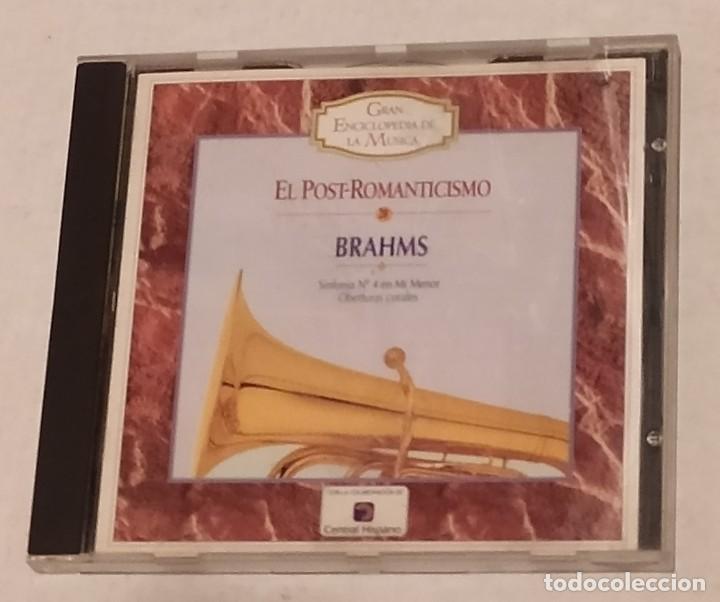 CD GRAN ENCICLOPEDIA DE LA MUSICA Nº 20 - BRAHMS. TIEMPO (Música - CD's Clásica, Ópera, Zarzuela y Marchas)