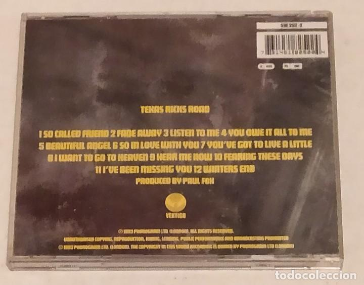 CDs de Música: CD TEXAS - RICKS ROAD AÑO 1993 VERTIGO - Foto 3 - 243669590