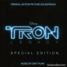 CDs de Música: TRON: LEGACY / DAFT PUNK 2CD BSO - SPECIAL EDITION. Lote 243675380