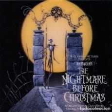 CDs de Música: THE NIGHTMARE BEFORE CHRISTMAS / DANNY ELFMAN 2CD BSO. Lote 243676160