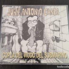 CDs de Música: JUAN ANTONIO CANTA – COPLA DEL VIUDO SUBMARINO. Lote 243780835