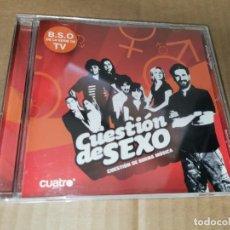 CDs de Música: CUESTION DE SEXO BANDA SONORA DE LA SERIE DE TV CD 2008 PETER BJORN & JOHN DELUXE INQ SIDECARS. Lote 243788890