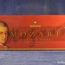 CDs de Música: WOLFGANG AMADEUS MOZART - COMPLETE WORKS = L'OEUVRE INTÉGRALE = GESAMTWERK - 170 CD. Lote 243793825