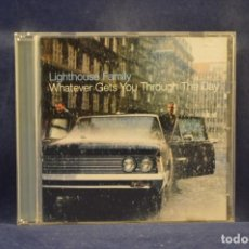 CDs de Música: LIGHTHOUSE FAMILY - WHATEVER GETS YOU THROUGH THE DAY - CD. Lote 243793935
