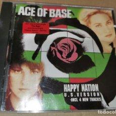 CDs de Música: ACE OF BASE HAPPY NATION U.S. VERSION CD ALBUM DEL AÑO 1993 REMIX CONTIENE 15 TEMAS. Lote 243799115