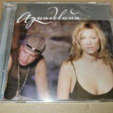 CDs de Música: AGUADELUNA A MEDIA LUZ CD ALBUM PRECINTADO 2003 12 TEMAS DUO CON DAVID DEMARIA IVAN MUR FABULA. Lote 243801315