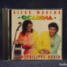 CDs de Música: DIEGO MODENA & JEAN-PHILIPPE AUDIN - OCARINA -CD. Lote 243802765