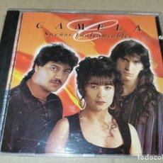 CDs de Música: CAMELA SUEÑOS INALCANZABLES CD ALBUM DEL AÑO 1995 CONTIENE 10 TEMAS. Lote 243803440