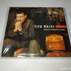 CDs de Música: 0221- TITO ROJAS QUIERO LLEGAR A CASA CD NUEVO REPRECINTADO. Lote 243816590