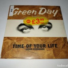CDs de Música: 0221-GREEN DAY TIME OF YOUR LIFE 3 TRACKS CD / DISCO ESTADO NUEVO. Lote 243825110