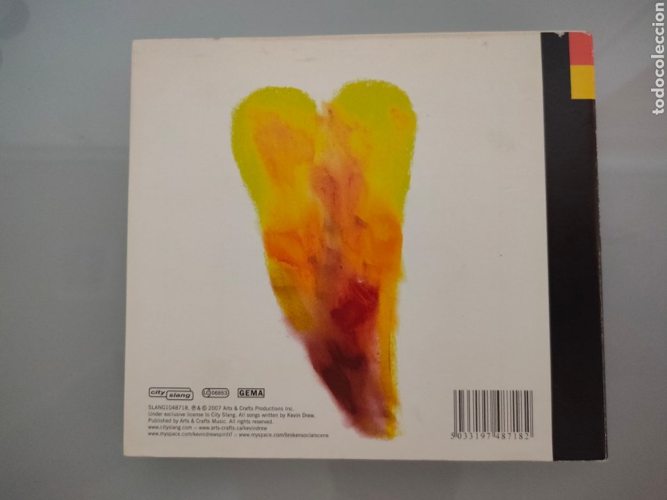 CDs de Música: CD KEVIN DREW SPIRIT IF...DEBUT SOCIAL SCENE 2007 - Foto 5 - 243831745