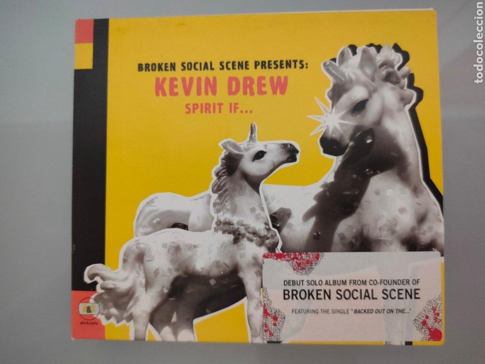 CD KEVIN DREW SPIRIT IF...DEBUT SOCIAL SCENE 2007 (Música - CD's Otros Estilos)