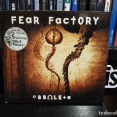 CDs de Música: FEAR FACTORY - OBSOLETE - LIMITED EDITION. Lote 243841275