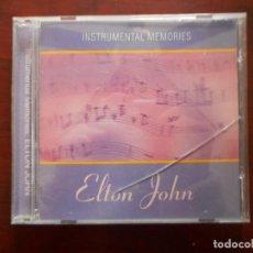 CDs de Música: CD INSTRUMENTAL MEMORIES: ELTON JOHN (O3). Lote 243852625