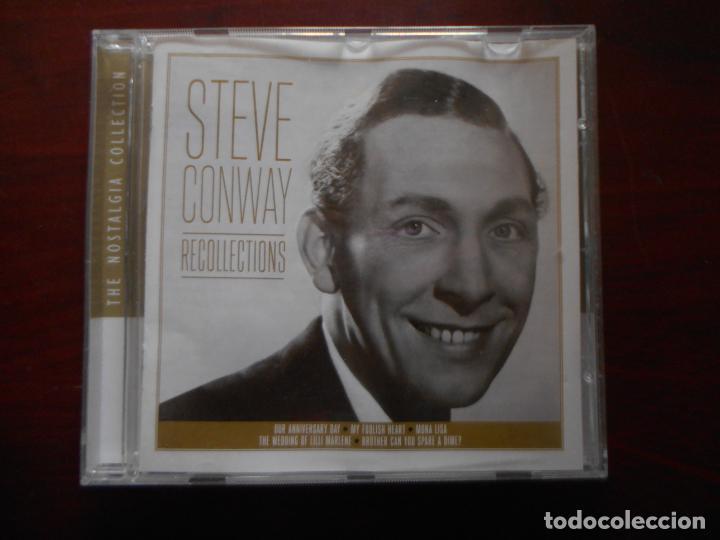 CD STEVE CONWAY - RECOLLECTIONS (P3) (Música - CD's Otros Estilos)