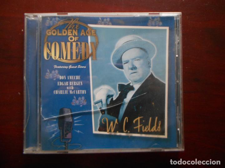 CD W.C. FIELDS - THE GOLDEN AGE OF COMEDY (P3) (Música - CD's Otros Estilos)