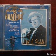 CDs de Música: CD W.C. FIELDS - THE GOLDEN AGE OF COMEDY (P3). Lote 243856710