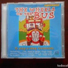 CDs de Música: CD THE WHEELS ON THE BUS (Q3). Lote 243858875