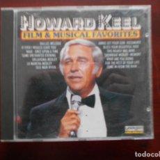 CDs de Música: CD HOWARD KEEL - FILM & MUSICAL FAVORITES (Q3). Lote 243862445