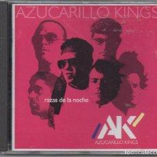 CDs de Música: AZUCARILLO KINGS - RAZAS DE LA NOCHE / CD ALBUM DEL 2001 / MUY BUEN ESTADO RF-9136. Lote 243863455