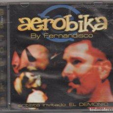 """CDs de Musique: AEROBICA - BY FERNANDISCO / ARTISTA INVIATADO """"EL DEMONIO"""" / 2 CD ALBUM / BUEN ESTADO RF-9145. Lote 243870110"""