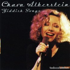 CDs de Música: CHAVA ALBERSTEIN - YIDDISH SONGS - CD. Lote 243881820