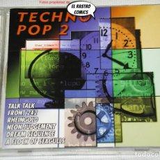 CDs de Música: TECHNO POP 2, DOBLE, DOS CD, CONTRASEÑA RECORDS, 1998, SYNTH-POP. Lote 243908540